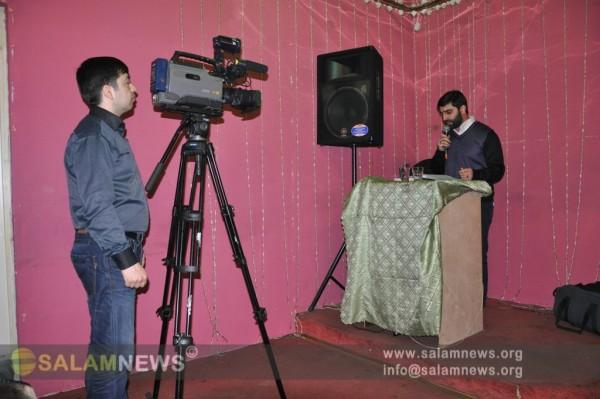 Московские мусульмане отметили день смерти госпожи Фатимы (с.а)