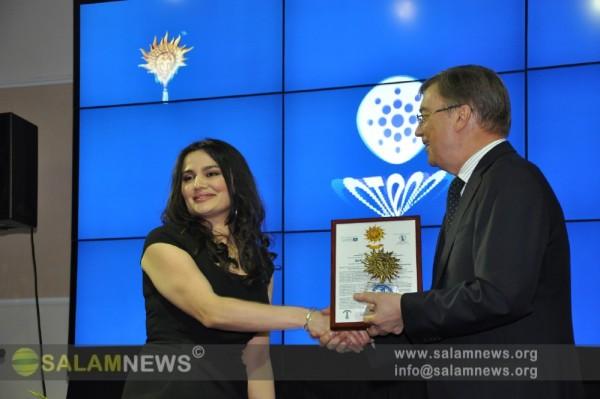 """ИА SalamNews удостоено национальной премии """"Бренд года номер один в Азербайджане"""" в номинации """"Информационное агентство"""""""