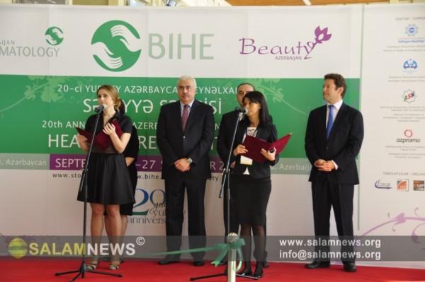 """В Баку открылась ХХ Азербайджанская международная выставка """"BIHE-2014"""""""