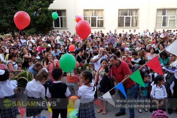 Сегодня в Азербайджане - День знаний