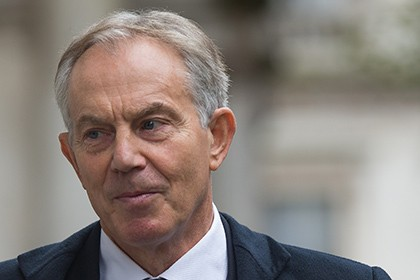 Прошлый  премьер Великобритании  Тони Блэр желает , чтобы Королевство осталось вЕС