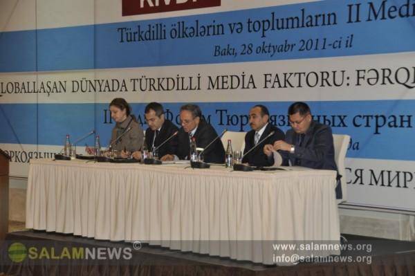Bakıda Türkdilli ölkələrin və toplumların 2-ci Media Forumu keçirilib