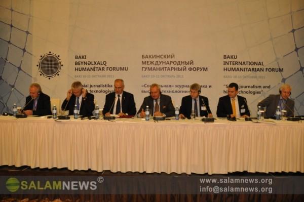 Bakıda Beynəlxalq Humanitar Forum çərçivəsində panel iclası keçirilib