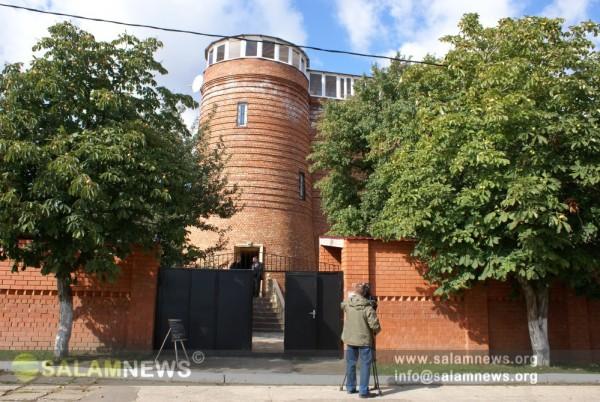 Rusiyanın Saratov şəhərində inşa edilmiş Qız Qalası