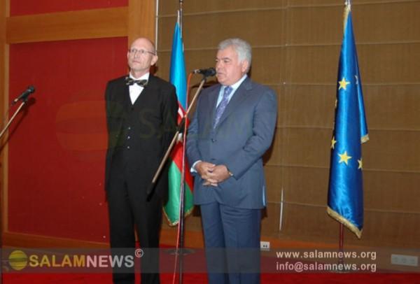 В Баку состоялся официальный прием в связи с Днем германского единства