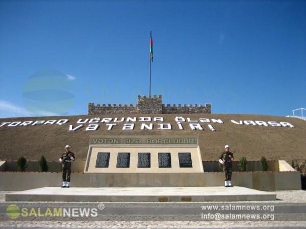 В Ходжавенде состоялась церемония открытия монумента памяти шехидов, павших в Карабахской войне