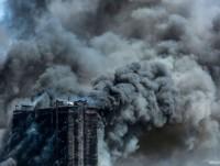 В Баку горит жилое здание – ФОТО, ВИДЕО