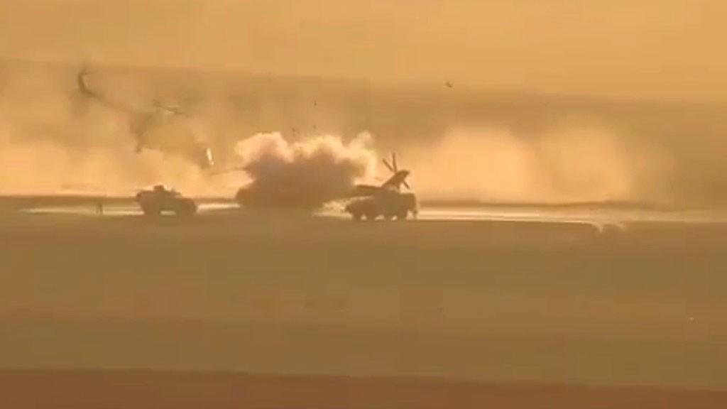 Вертолет ВКС обстрелян вСирии, Минобороны опровергает данные ожертвах