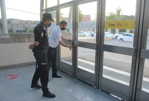 Бакинское метро 226 дней спустя ...