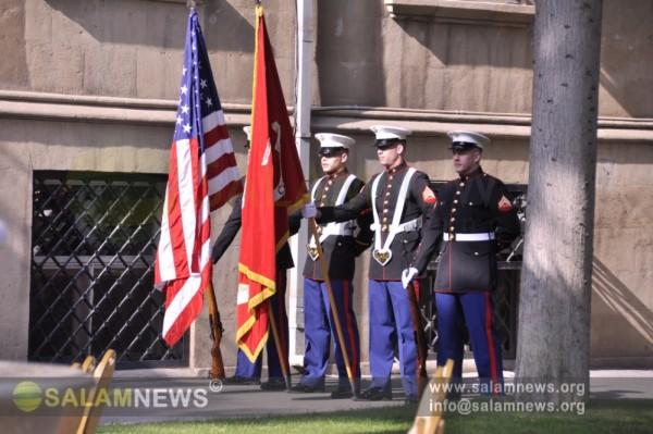 Посольстве США почтили память жертв терактор 11 сентября 2001 года в Нью-Йорке и Вашингтоне