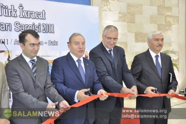 """""""Bakı Türk İxracat Məhsulları Sərgisi""""nin açılışı olub"""
