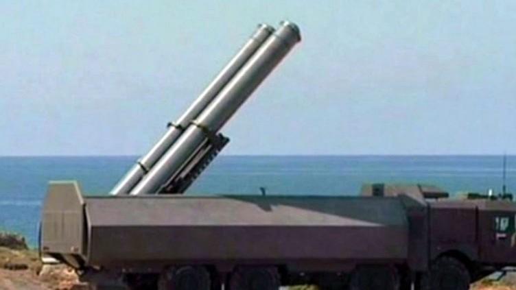 Российская Федерация развернула наберегу Черного моря комплексы «Бастион»