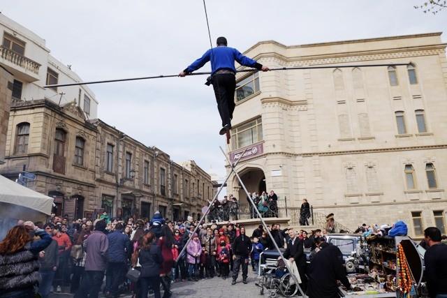 Bakıda Novruz bayramı şövqlə qeyd olunur