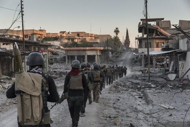 Исламские террористы изэкстремистской группировки применили отравляющий газ впроцессе атак вМосуле