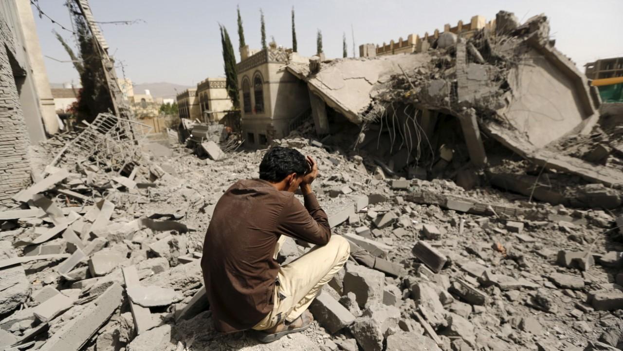 ВЙемене 68 человек погибли в итоге бомбардировки коалиции