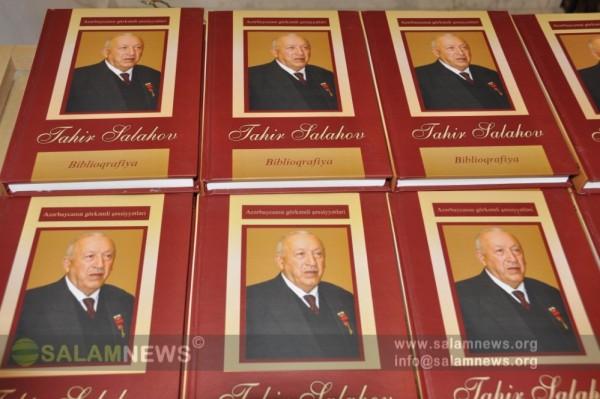 Tahir Salahovun 85 illik yubileyi ilə bağlı tədbir keçirilib