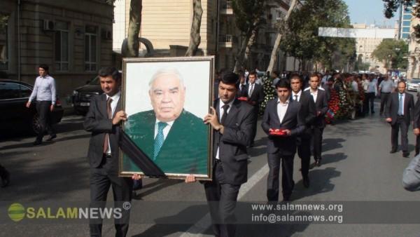 Экс-спикер Милли Меджлиса Муртуз Алескеров похоронен на 1 Аллее Почетного захоронения