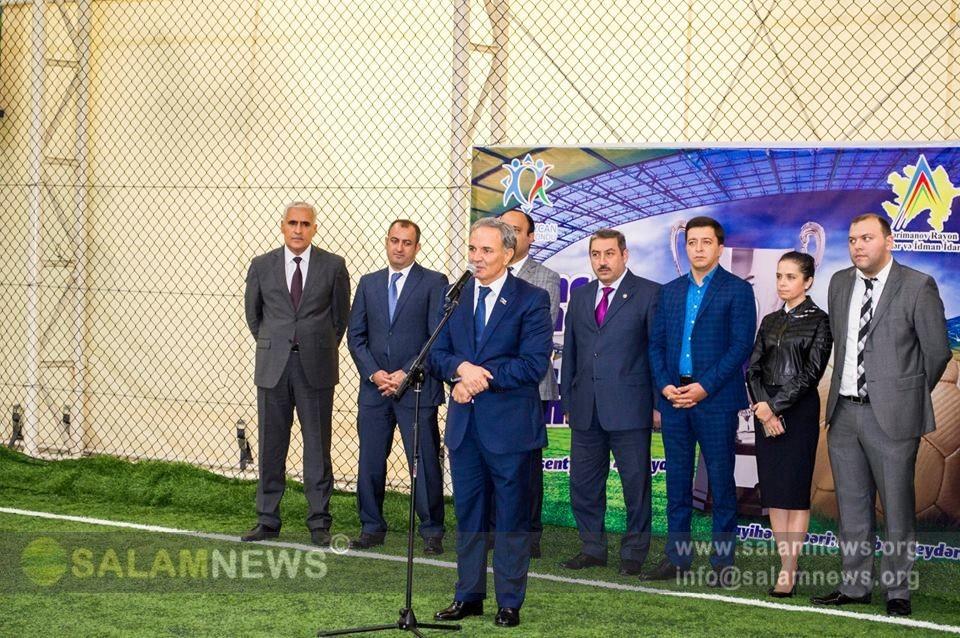 Jurnalistlər arasında futbol çempionatı keçirilir