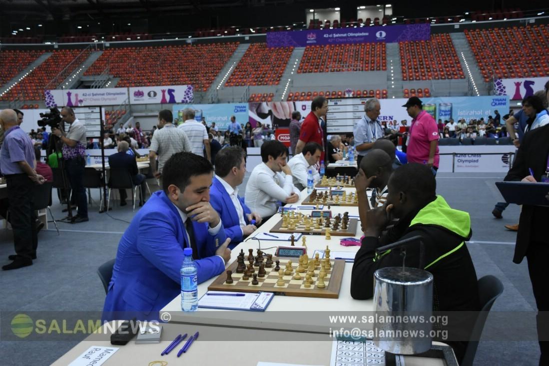 В Баку стартовал первый тур 42-й Всемирной шахматной олимпиады