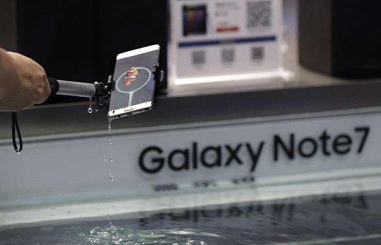 Вскором времени стартует новая волна продаж телефонов Самсунг Galaxy Note 7