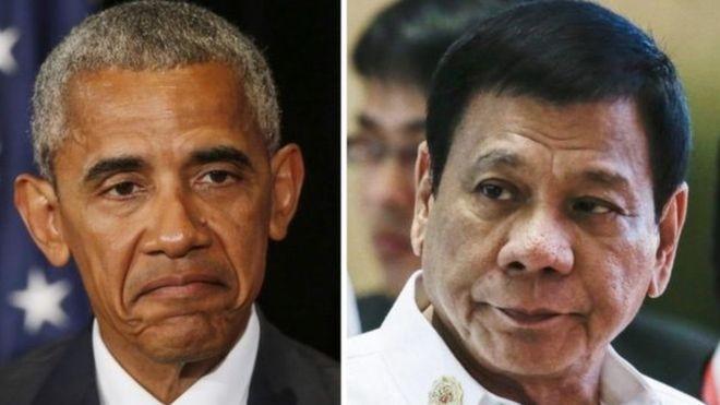 Обама «обменялся любезностями» соскорбившим его главой Филиппин