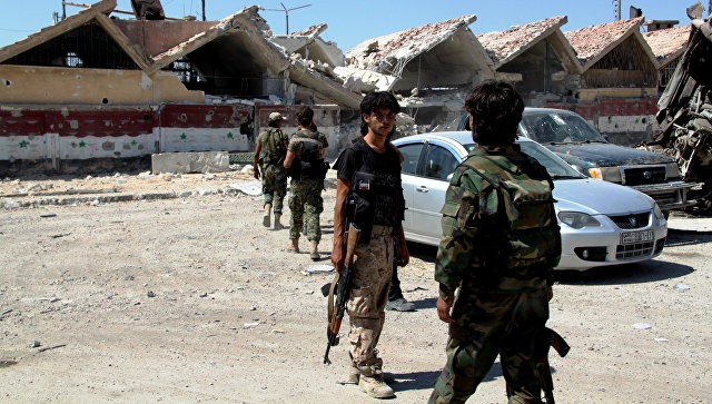 Сирийская армия освободила часть лагеря беженцев вАлеппо