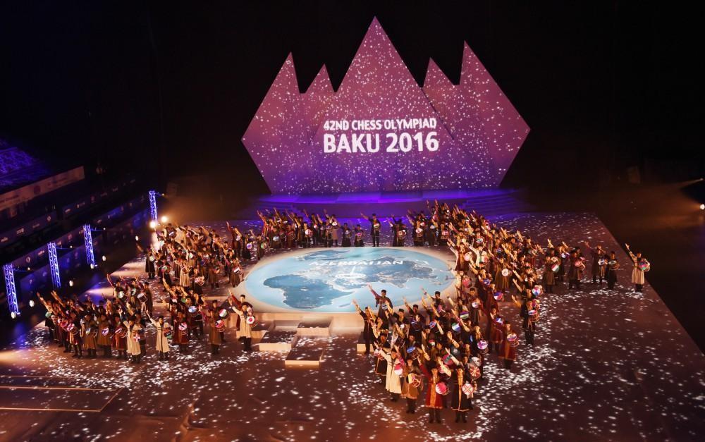 Bakıda Şahmat Olimpiadasının təntənəli açılış mərasimi keçirilib