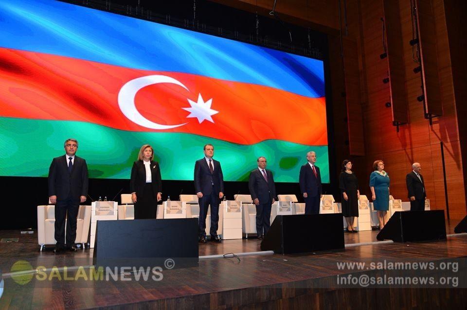 Приступил к работе XV съезд азербайджанских учителей