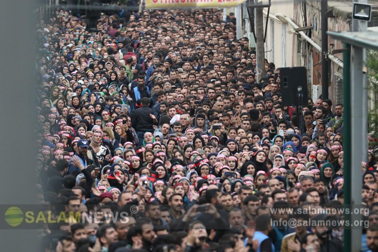 В связи с днем Ашура в мечетях Баку проходят траурные мероприятия