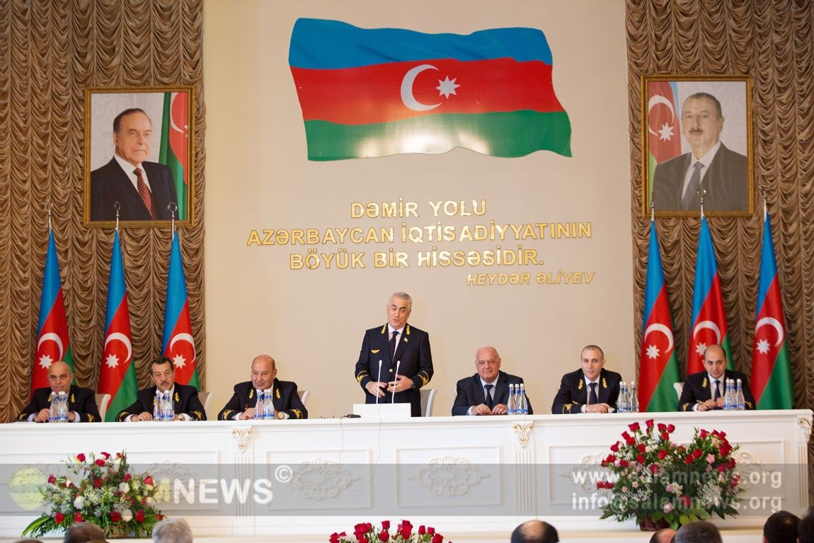 Сегодня в Азербайджане отмечается День железнодорожников