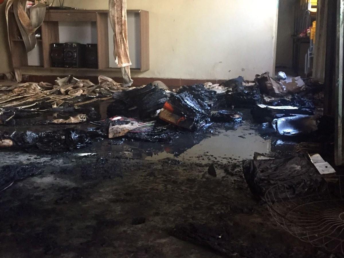 Вустроенном охранником пожаре вдетском саду вБразилии погибли семь человек