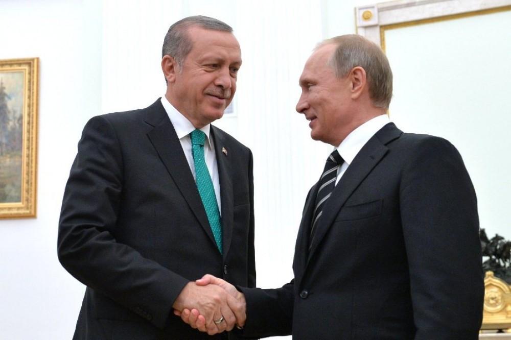 Путин иЭрдоган запустили строительство «Аккую»