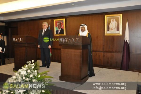 В Баку организован официальный прием в связи с национальным праздником Катара