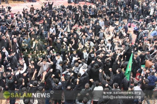 В день Ашура сотни молодых азербайджанцев вновь подтвердили любовь к Ахли-бейту