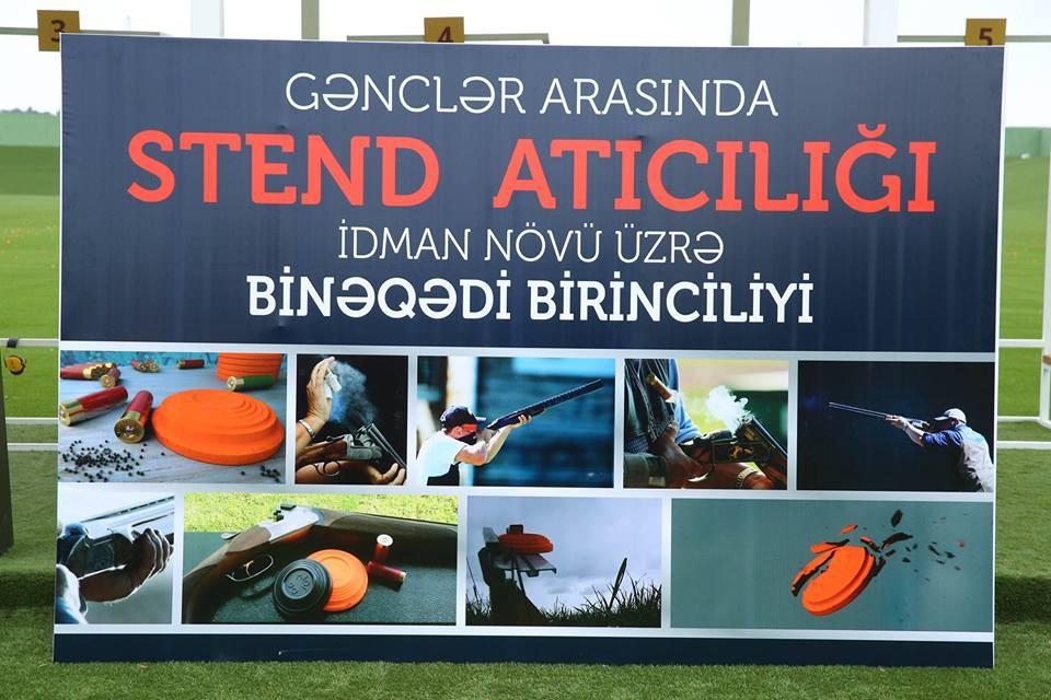 Stend atıcılığı üzrə Binəqədi rayon birinciliyi keçirilib