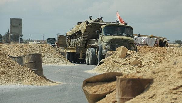 СМИ узнали опрорыве повстанцами блокады правительственных войск вАлеппо