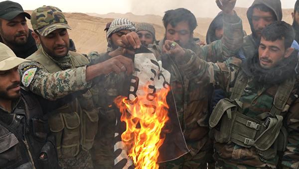 Сирийские войска при помощи ВКСРФ взяли восаду город Аль-Маядин