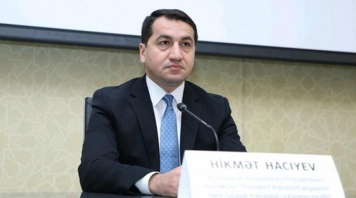 Хикмет Гаджиев: Конфликт может быть урегулирован на основании восстановления территориальной целостности Азербайджана