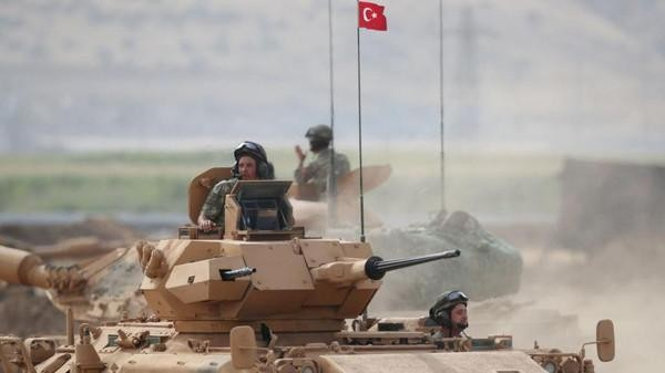 Türkiyə Suriyanın şimalında kürdlərə qarşı ile ilgili görsel sonucu
