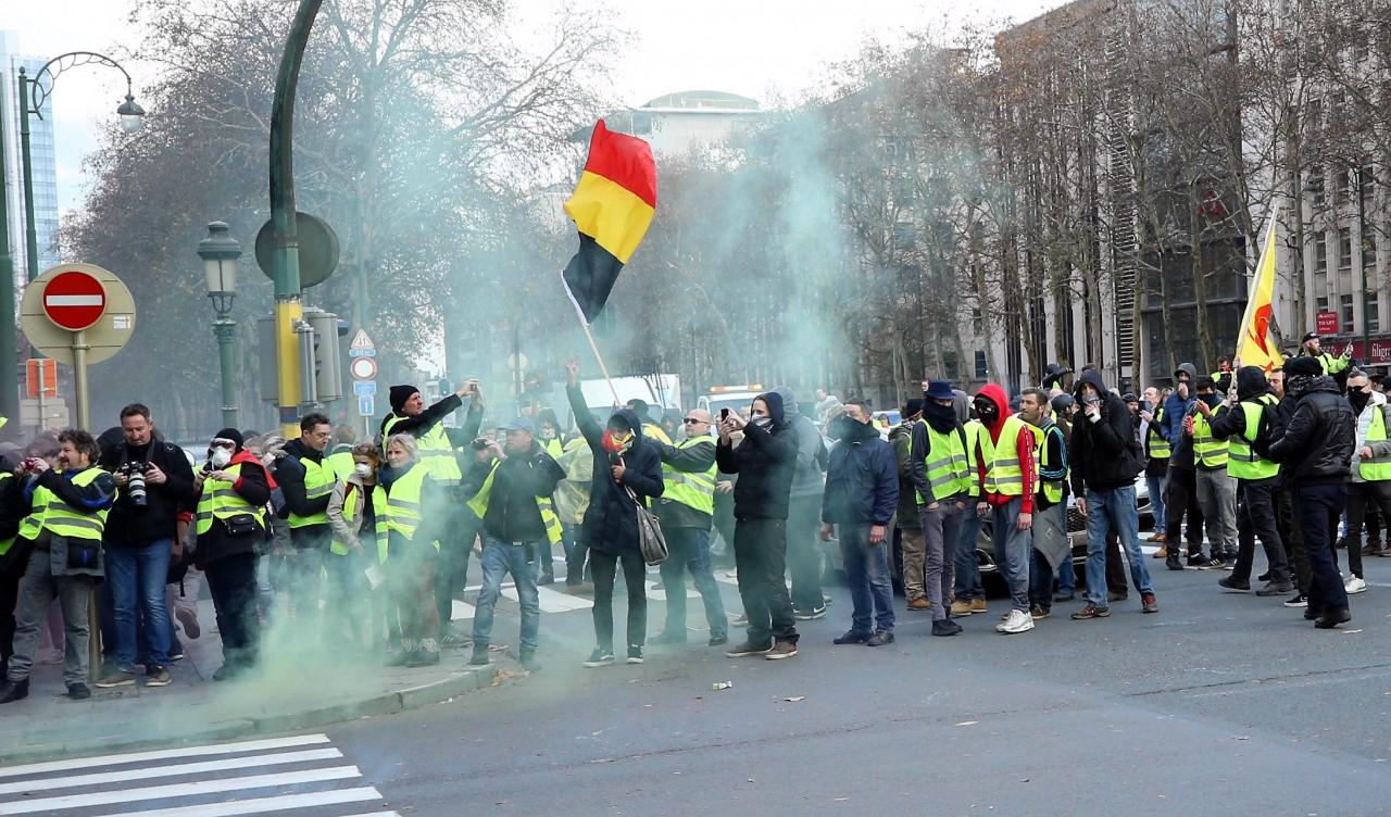 Власти Франции готовятся кновым протестам