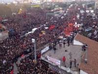 Акция протеста в Анкаре