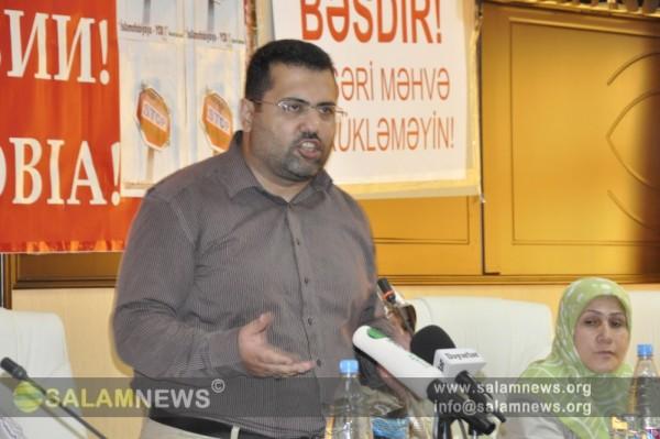 """DEVAMM-ın təşkilatçılığı ilə """"Mənəvi terrora etiraz"""" konfransı işinə başlayıb"""