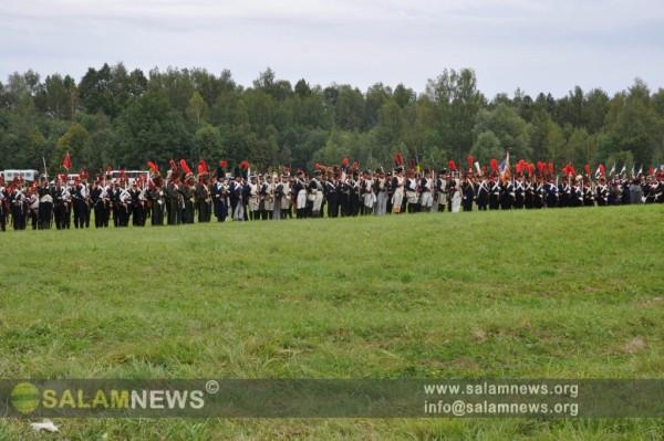 В подмосковном Бородино состоялось торжественное празднование 200-летия Бородинской битвы
