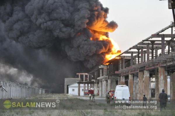 На одном из заводов в Сумгайыте произошел сильный взрыв