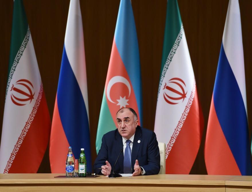 Президенты Российской Федерации, Ирана иАзербайджана договорились совместно противодействовать терроризму
