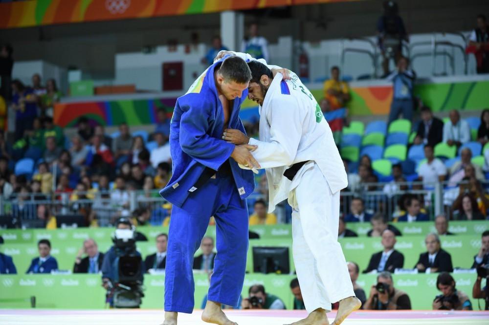 """Azərbaycan cüdoçusu Elmar Qasımov """"Rio-2016""""da gümüş medal qazanıb"""