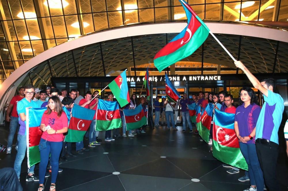 Олимпийская сборная Азербайджана отправилась в Бразилию