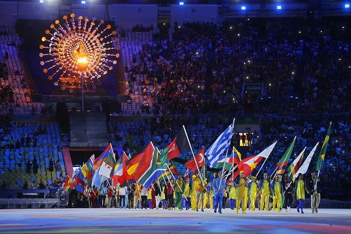 Rio-de-Janeyroda XXXI Yay Olimpiya oyunlarının bağlanış mərasimi keçirilib