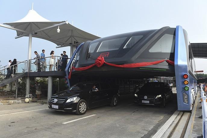 ВКитайской республике прошла презентация автобуса будущего