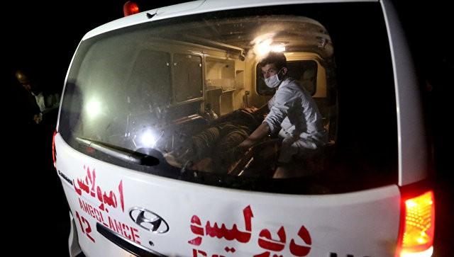 Взрыв вАфганистане забрал жизни как минимум 12 служащих службы безопасности